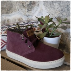 "Ghete Safari Suede ""Granate"""