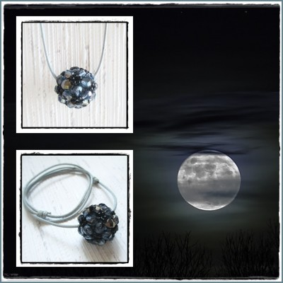 """Glob de Cristal """"Moonish"""""""