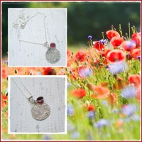 """Colier """"Poppies"""""""