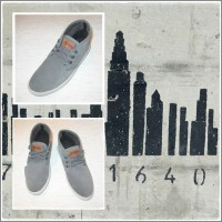 "Ghete Safari Suede ""Gris"""
