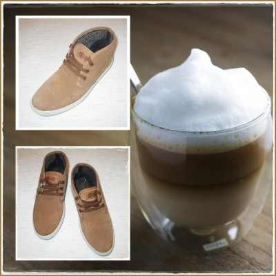 "Ghete Safari Suede ""Latte"""