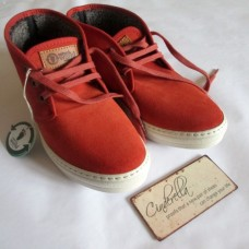 "Ghete Safari Suede ""Brick-Red"""